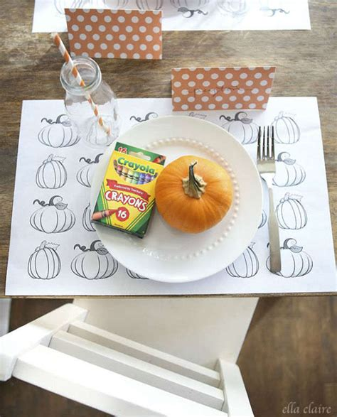 printable thanksgiving craft ideas homemade thanksgiving placemat ideas diy projects craft