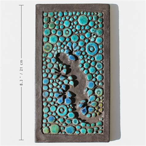 ceramic wall decorations gecko ceramic wall ceramica turquoise