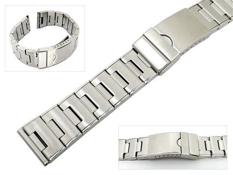 Edelstahl Uhrenarmband Polieren by Uhrenarmband Edelstahl 20mm Teilweise Poliert Mit