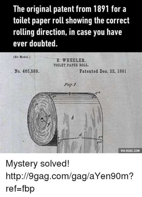 toilet paper patent 9gag 25 best memes about toilet paper roll toilet paper roll
