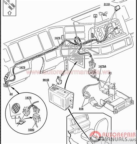 volvo truck repair auto repair wiring diagrams auto free engine image for