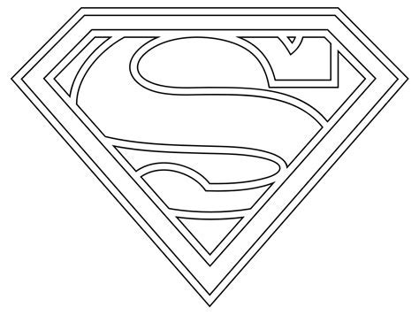 Superman Logo Template For Cake by Heroes Coloring Print Pages Colouring For Adults