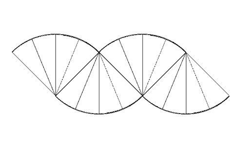 Paper Folding Formula - area of a circle formula by paper folding