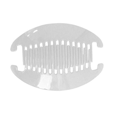 hair combs for women interlocking black white 6 5 inch banana clip hair clincher