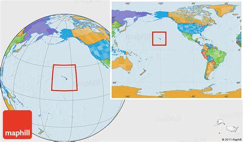 map world hawaii hawaii on a world map onlineshoesnike