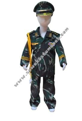Kostum Natal 336 baju kostum tentara kostum abri sewa kostum anak di