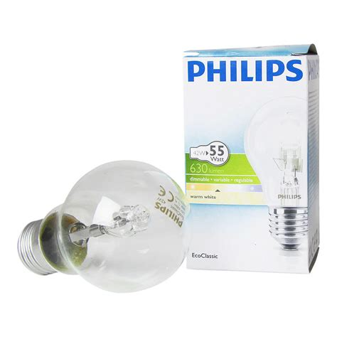 Lu Led Philips 3 philips ecoclassic 42w e27 230v a55 clear any l