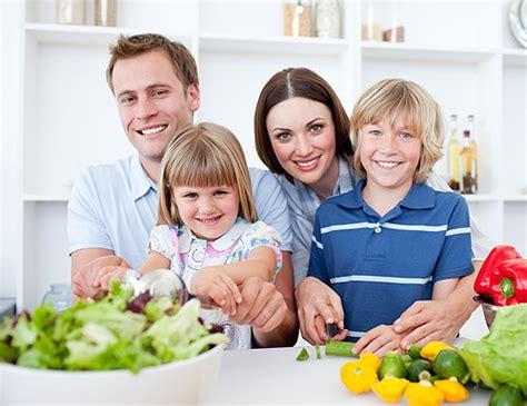 imagenes de la familia saludable los beneficios de comer en familia