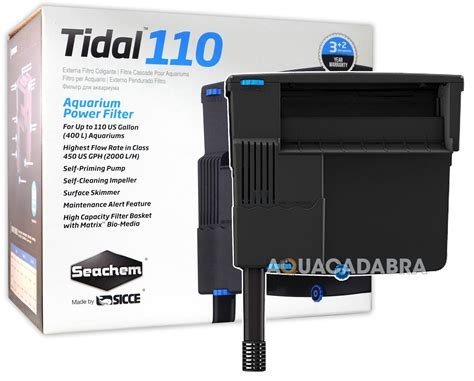 Recent Aa 501 Hanging Filter seachem sicce tidal hang on power filters 55 75 110 self priming fish tank ebay