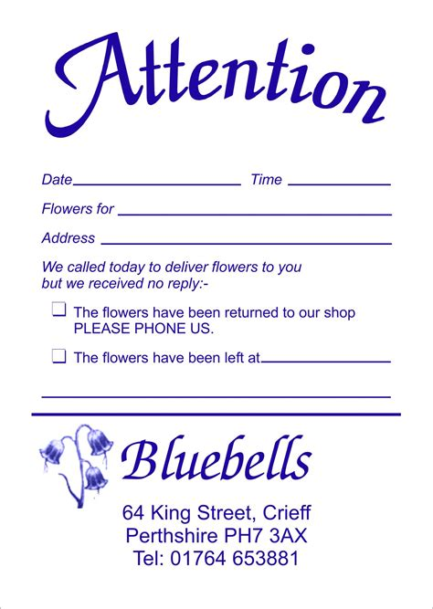 missed delivery card template gallery sorry we missed you notes quotes