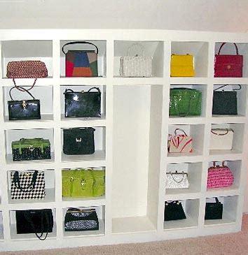 How To Store Handbags In Wardrobe by Handbag Storage Solutions