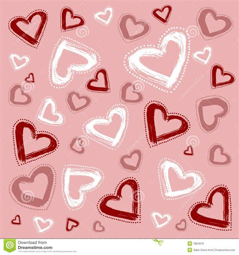heart pattern free vector heart pattern vector royalty free stock images image