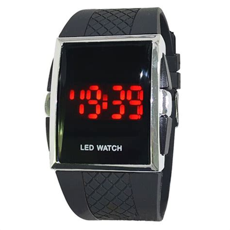Led Sport Watches Aa W027 White luxury watches wrist s digital led sports