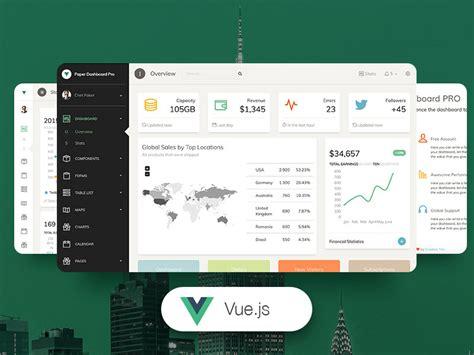 Vue Paper Dashboard Pro Premium Bootstrap Vue Js Admin Template Creative Tim Vue Js Website Template