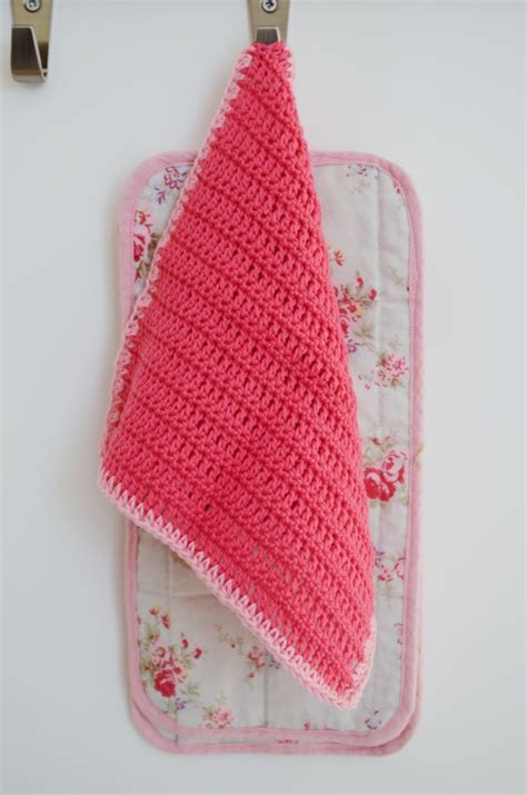 dish towel potholder tutorial youtube 1000 images about knitted wash cloth on pinterest