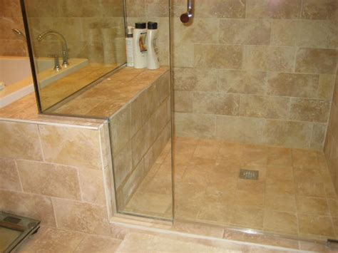 tiled shower with bench shower bench ideas treenovation