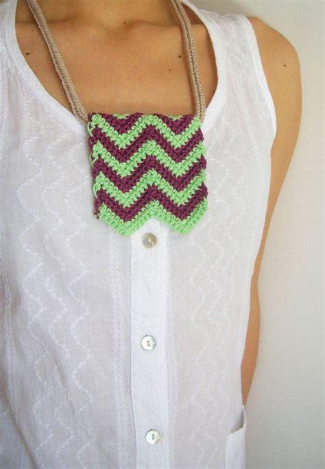 zig zag necklace pattern diy zigzag necklace hazlo t 250 mismo collar zig zag free