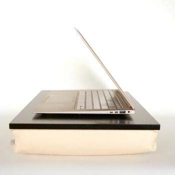 laptop riser cushion tray ipad stand or wooden by ejbutik laptop lap desk or ipad stand peach cream tray with