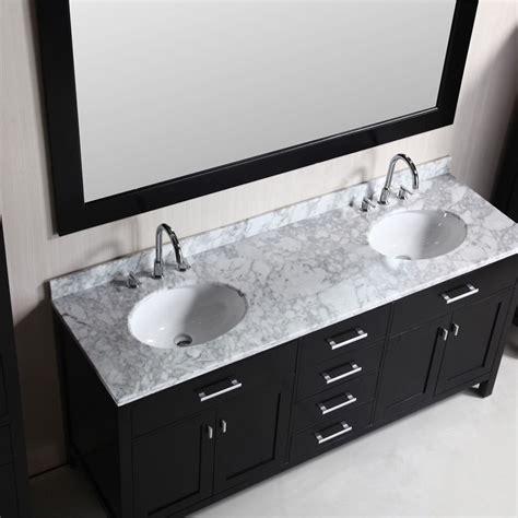 design element  london double sink bathroom vanity combo espresso decbcabx jkeats