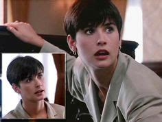 demi moore haircut in ghost the movie demi moore indecent proposal hair 90s style