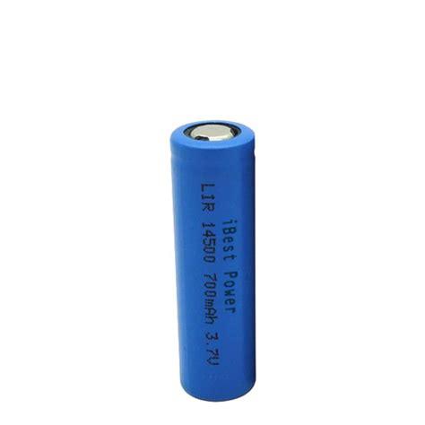 Huahui Rechargeable Lithium Ion Battery 3 7v li ion 14500 cylindrical 3 7v 700mah rechargeable battery ibestpower battery supplier