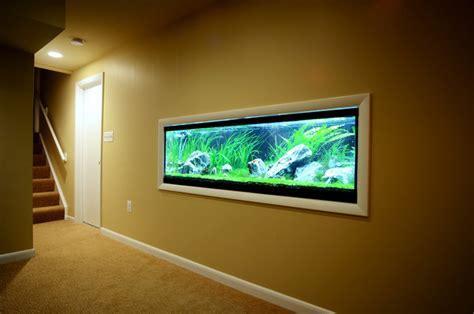 built in aquarium design retro sophisticate contemporary basement baltimore