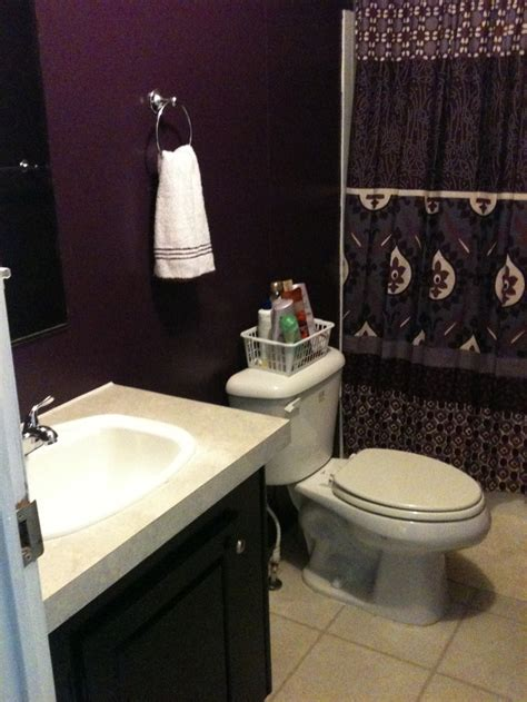 dark purple bathrooms the 25 best dark purple bathroom ideas on pinterest