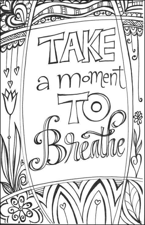 inspirational coloring pages printable free coloring pages of inspirational quotes