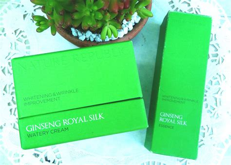 Ginseng Royal Silk review nature republic ginseng royal silk essence and