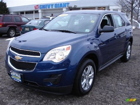 2010 Navy Blue Metallic Chevrolet Equinox Ls 44508539