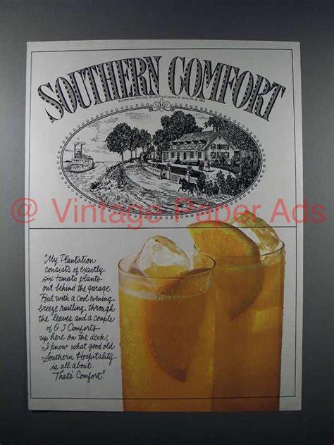 southern comfort ad 1983 southern comfort liquor ad