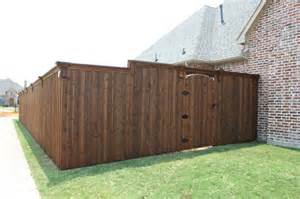 Types Of Fences For Backyard Custom Wood Fences Bluebonnent Fences