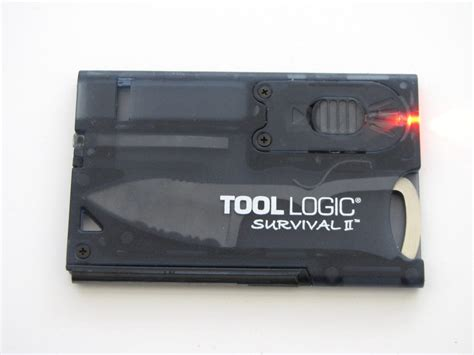 tool logic survival card tool logic survival card 2 review the gadgeteer