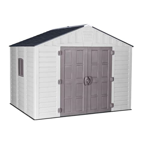 us leisure home design products us leisure keter stronghold 10 ft x 8 ft resin storage shed browns tans shop your way
