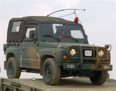 What Does Kia In The Army Km131 Jeep