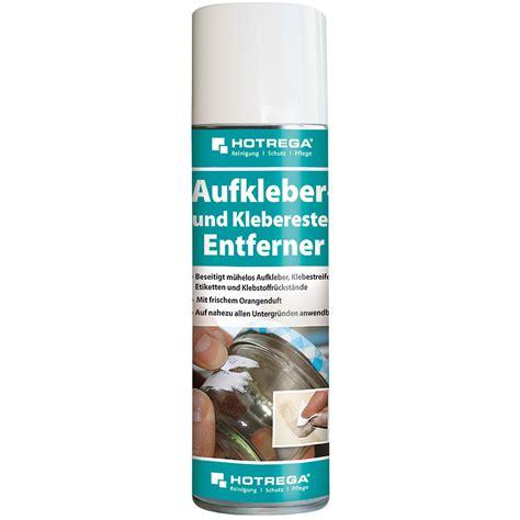 Aufkleber Von Holz Entfernen by Hotrega Aufkleber Und Klebereste Entferner 300 Ml