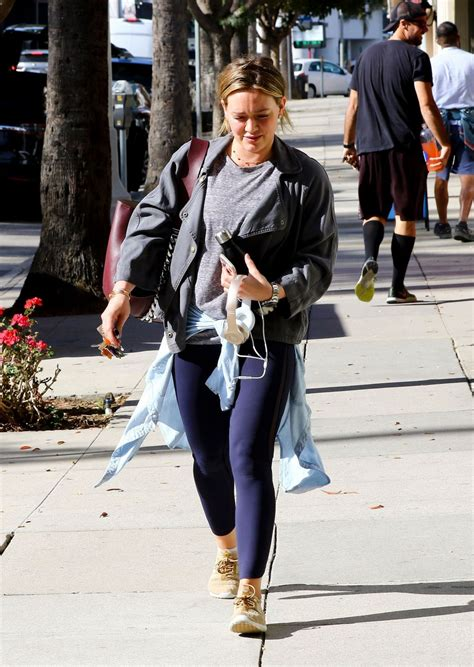 Hilary Duff Hits The by Hilary Duff Hits The In Studio City Celebzz