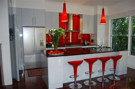 modern kitchen with red bar stools hgtv 10 awesome bar stools for modern kitchen 187 hexagreen