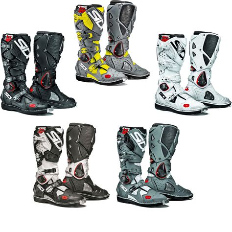 sidi crossfire motocross boots sidi crossfire 2 motocross boots mx enduro off road dirt