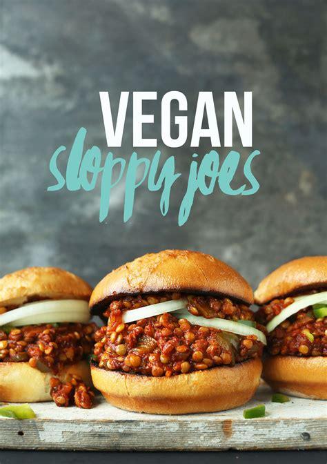 joe s vegan sloppy joes minimalist baker recipes