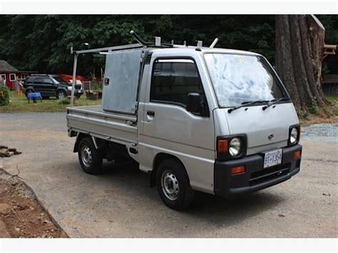 subaru mini truck 1991 subaru sambar mini truck 4x4 outside nanaimo nanaimo