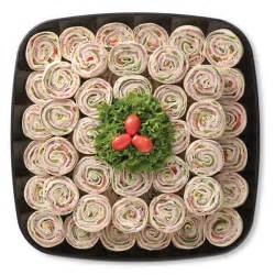 Sandwiches and finger foods party pinwheels