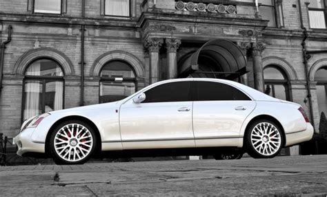 project kahn s royal wedding commemorative maybach 57