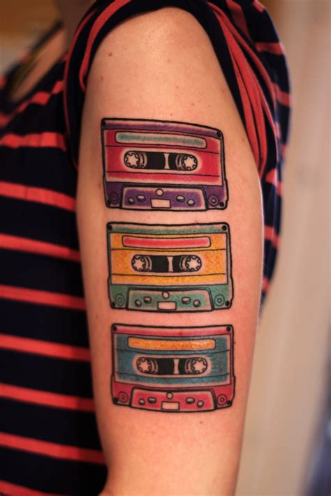 cassette tape tattoo cassette tattoos askideas