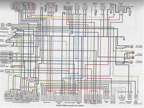 81 virago 750 wiring diagram wiring diagrams schematics