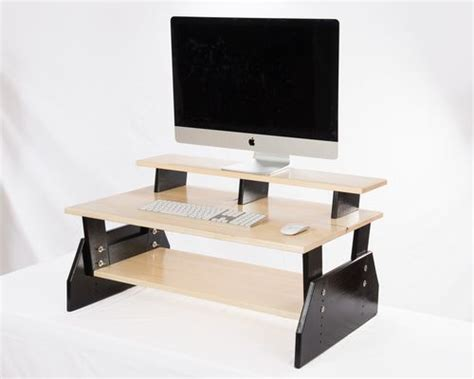 desk topper shelf 1000 images about stand up desk toppers on