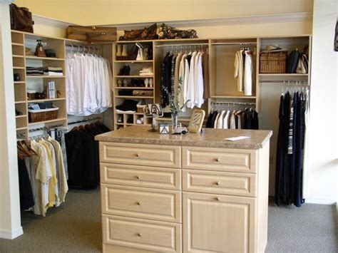 Island Closets by Walk In Closet With Island Traditional Closet