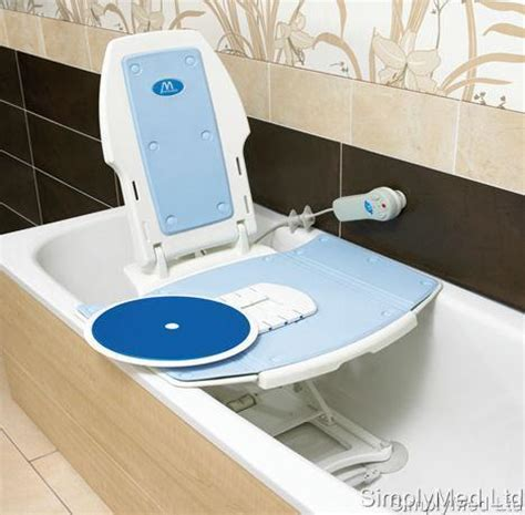 minivator bath bliss recliner swivel slide accessory for minivator bathlift bliss