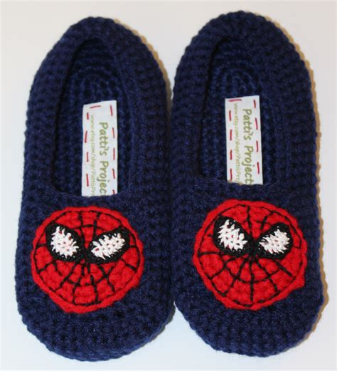 spiderman house shoes spiderman inspired men s slippers