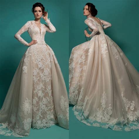 Vintage Ivory Wedding Dresses by Milla Vintage Sleeves Wedding Dresses Ivory V
